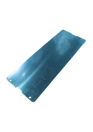 REAR ALUMINUM PANEL FOR 17-4B, Алюмин.панель для корпуса 17-4